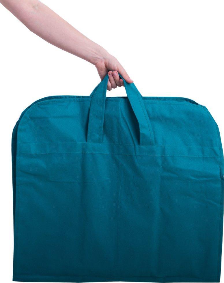 Чехол для объемной, верхней одежды с ручками 110х10 см Organize лазурь Hch110-10 SKL34-176328