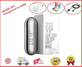 Парфюмированная вода для женщин Carolina Herrera 212 VIP (Каролина Херера 212 Вип) (серебpo) 80 ml