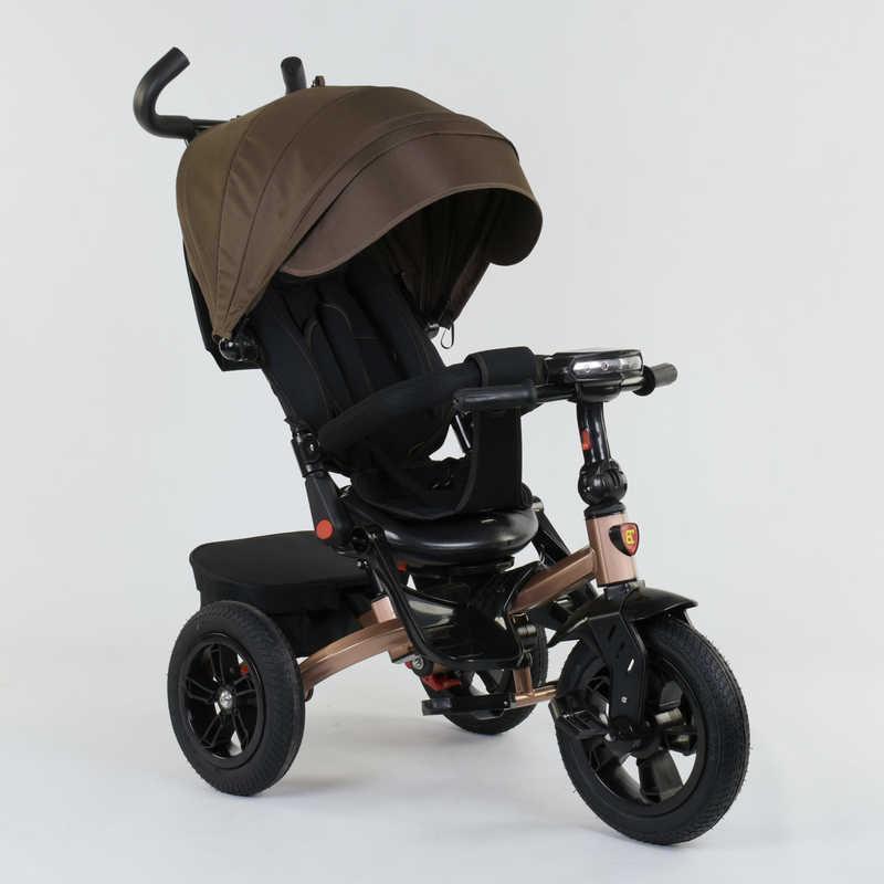 Велосипед 3-х колёсный 9500 - 2620 Best Trike ПОВОРОТНОЕ СИДЕНЬЕ, СКЛАДНОЙ РУЛЬ, РУССКОЕ ОЗВУЧИВАНИЕ, СВЕТ, НАДУВНЫЕ КОЛЕСА