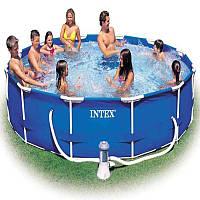 Intex Бассейн каркасный 28202 NP фильтр-насос /сеть 220-240 В/ 530гал/час, /6 + лет /56999/ 305*76 см