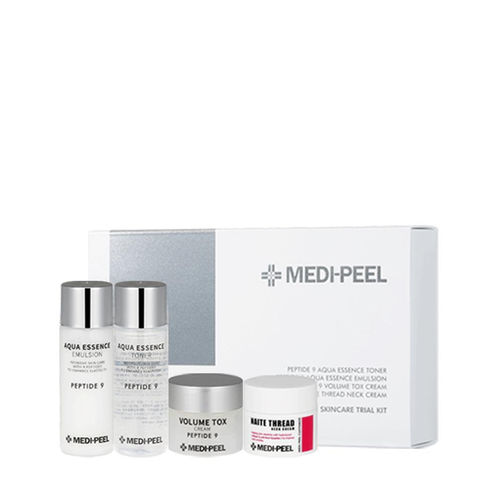 Набор миниатюр антивозрастных средств с пептидами для лица и шеи Medi-Peel Peptide SkincareTrial Kit