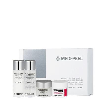 Набор миниатюр антивозрастных средств с пептидами для лица и шеи Medi-Peel Peptide SkincareTrial Kit, фото 2