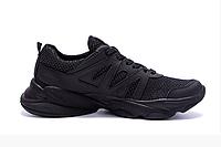 Чоловічі кросівки літні сітка Reebok Crossfit чорні
