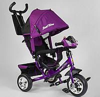 """Детский велосипед трёхколёсный 6588-29-309 """"Best Trike"""", с ручкой, ФАРА, дитячий велосипед ровер"""