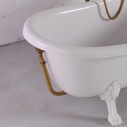 Слив/перелив для ванны Lady Hamilton (бронза, хром) Fancy Marble 80174501-01, фото 2