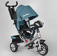 """Детский велосипед трёхколёсный 6588-20-203 """"Best Trike"""", с ручкой, ФАРА, дитячий велосипед ровер"""