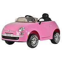 Дитячий електромобіль Fiat Рожевий