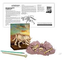 Игровой научный набор, Скелет трицератопса игрушка набор для раскопок динозавра, для детей от 8 лет
