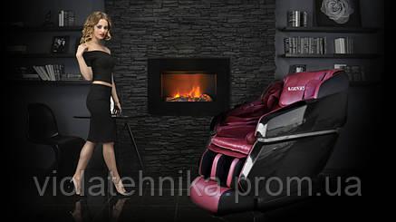 Массажное кресло ZENET ZET-1670 бежевое, фото 2