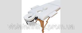 Массажный стол ZENET ZET-1042/S white, фото 2