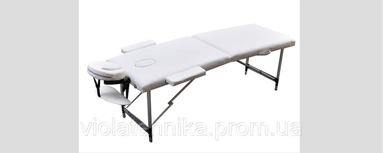 Массажный стол ZENET ZET-1044/L white