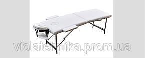 Массажный стол ZENET ZET-1044/L white, фото 2