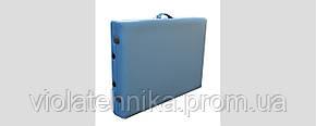 Массажный стол ZENET ZET-1047/M light blue, фото 2