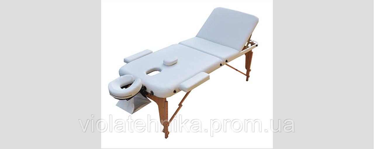 Массажный стол ZENET ZET-1047/M white