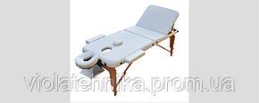 Массажный стол ZENET ZET-1047/M white, фото 2