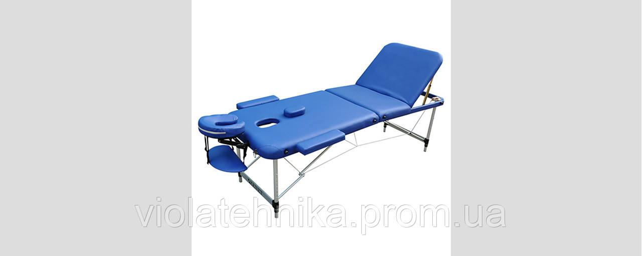 Массажный стол ZENET ZET-1049/L navy blue