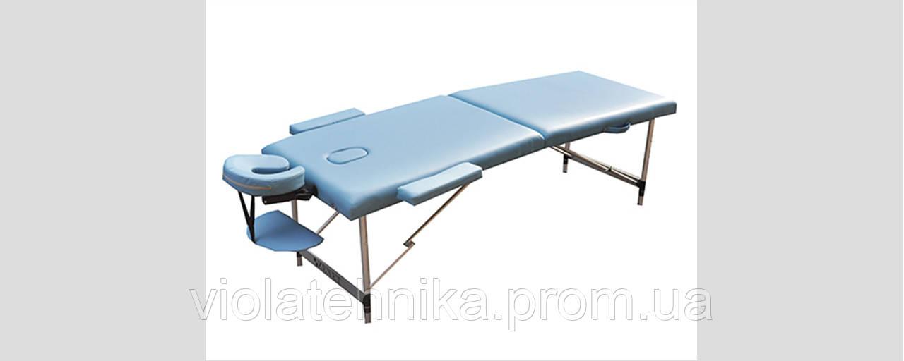 Массажный стол ZENET ZET-1049/L light blue