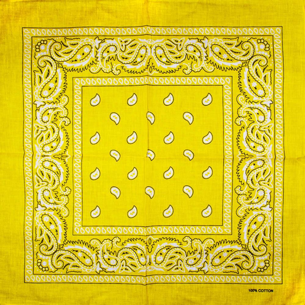 Бандана BAN-196 Желтая