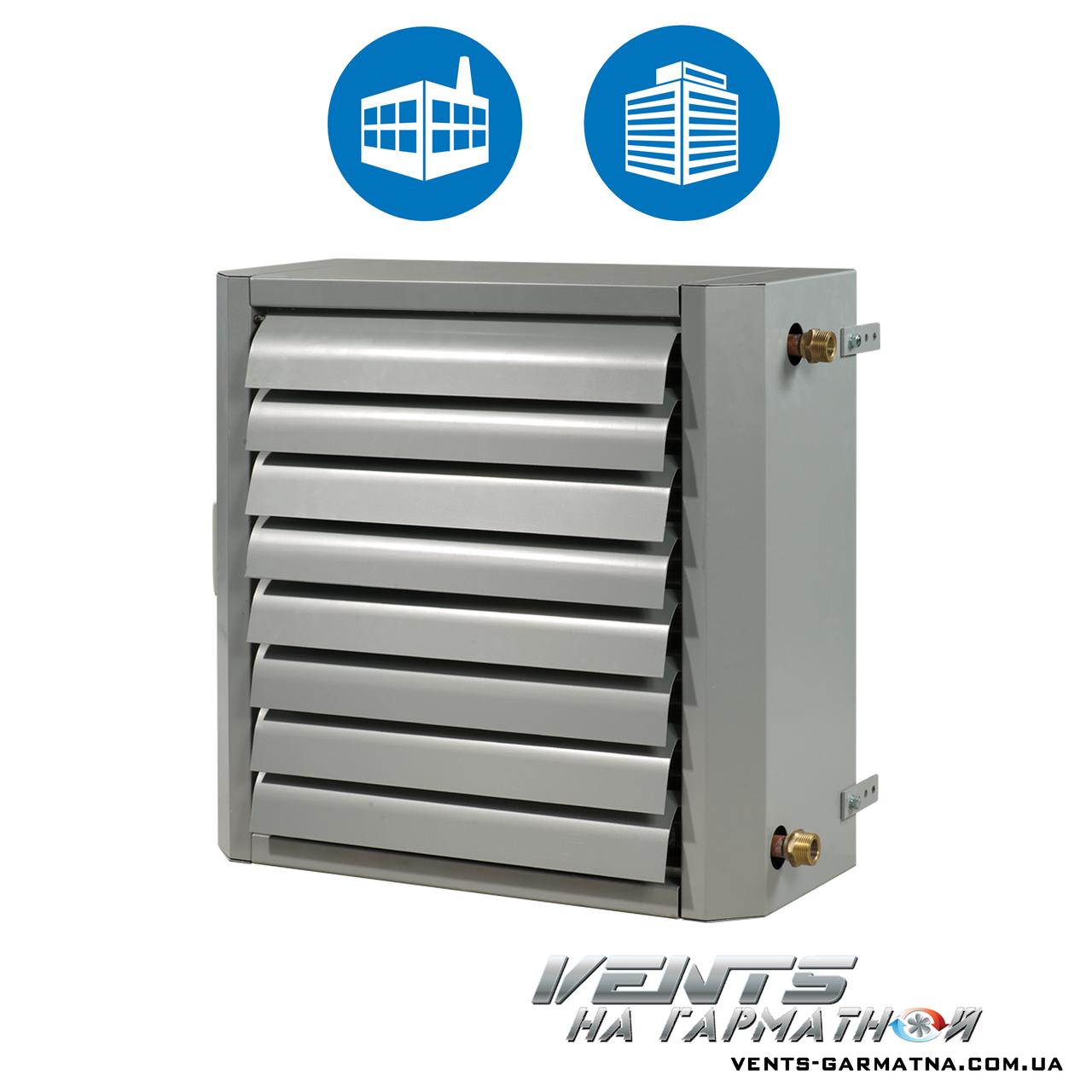 Вентс АОВ 25. Воздушно-отопительный агрегат с водяным теплообменником