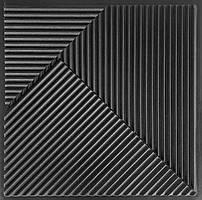 Форма 3D панелей Fields / Поля №2 - формы из АБС пластика для гипсовых декоративных панелей