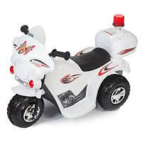 Дитячий електромобіль Babyhit Little Biker білий