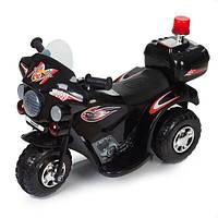 Дитячий електромобіль Babyhit Little Biker чорний