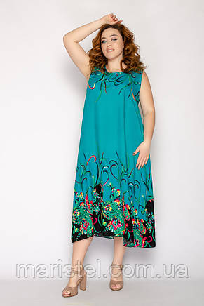 Женское летнее платье 8017-17, фото 2