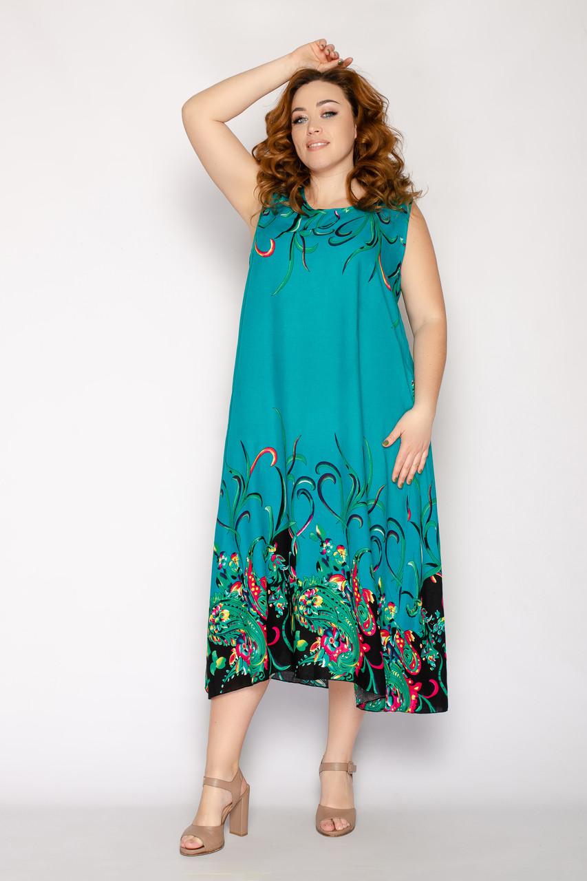 Женское летнее платье 8017-17