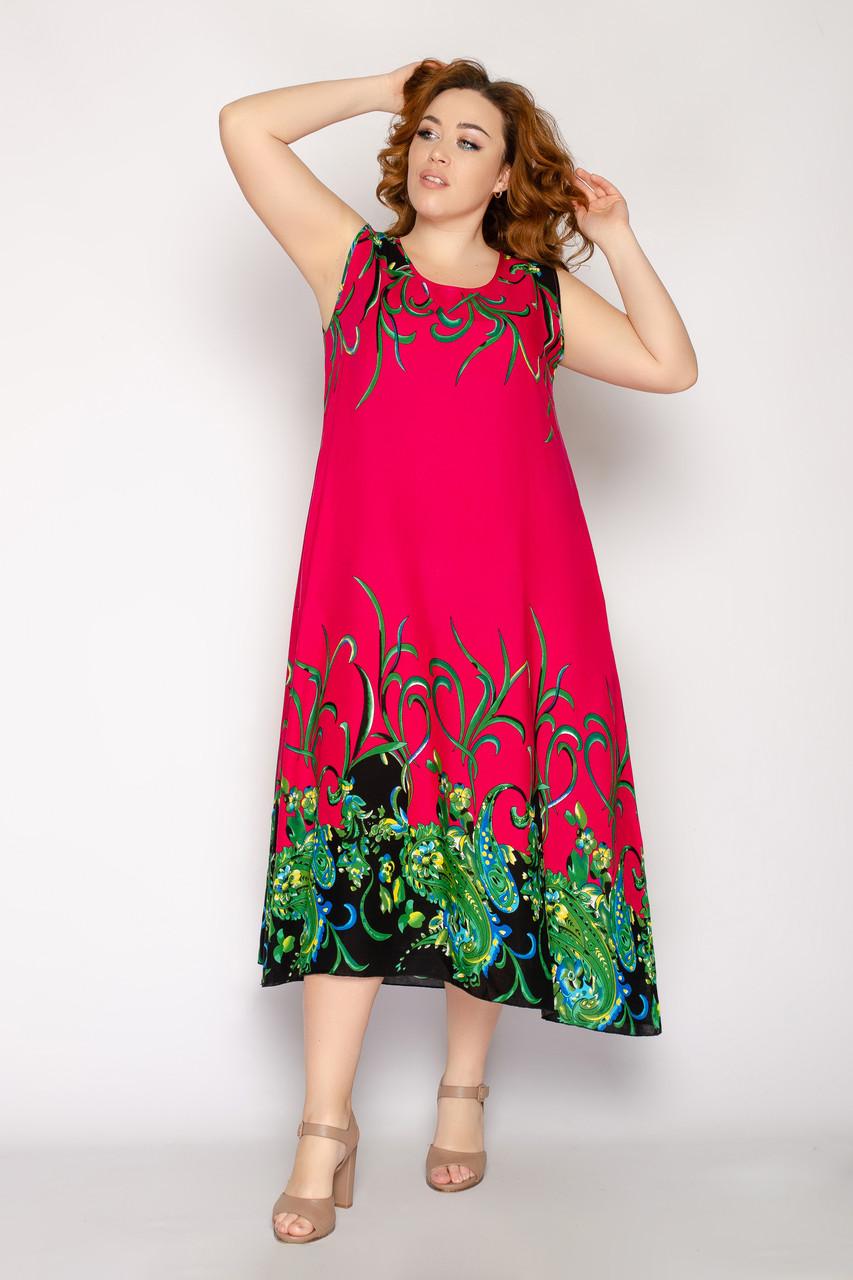 Женское летнее платье 8017-18