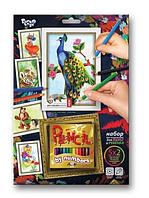 Раскраска по номерам c карандашами, PBN-01-04