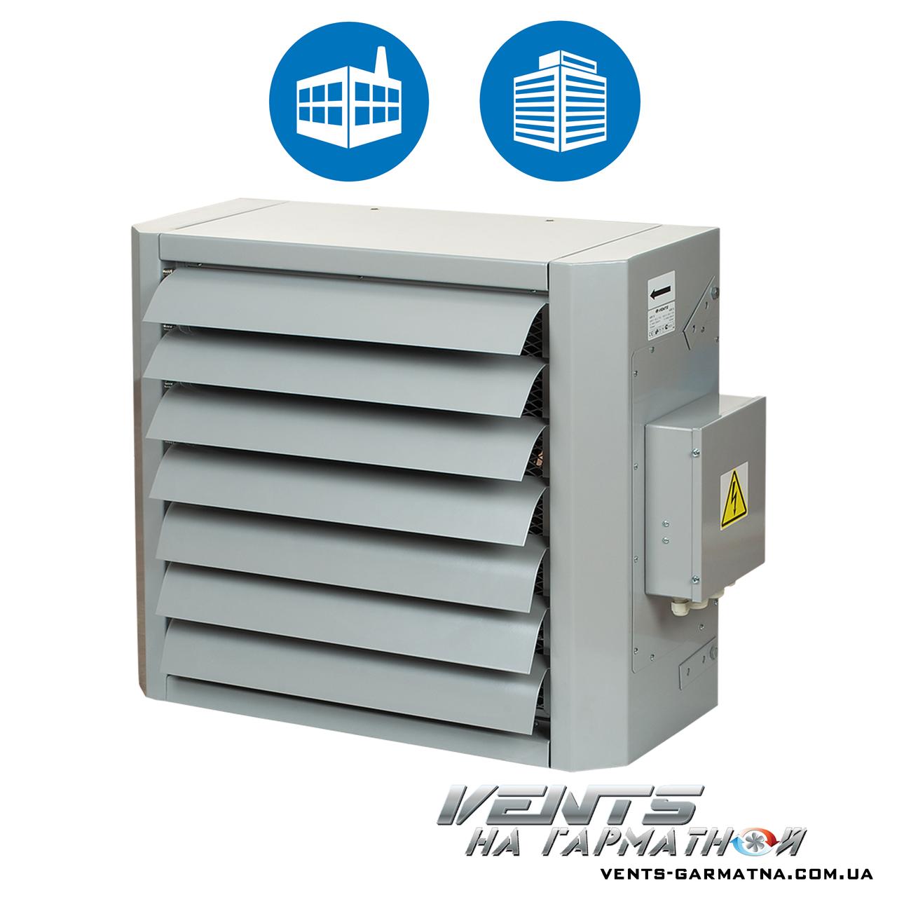 Вентс АОЕ 15. Воздушно-отопительный агрегат с электрическим теплообменником