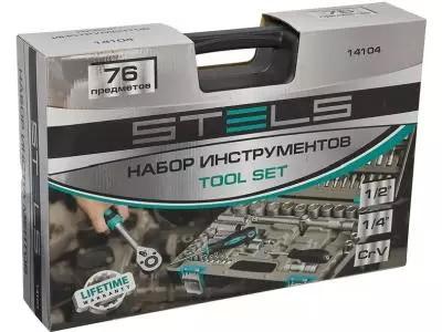 Професійний набір інструментів 76 эл. STELS 14104