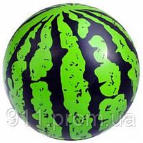 Детский резиновый мяч Арбуз 20 см