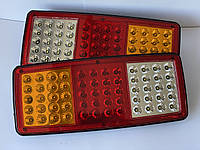LED ліхтар задній універсальний 340х145х28 мм (12/24В)