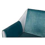 Кресло TOSCANA (Тоскана) бирюзовое, фото 3