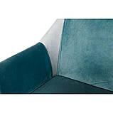 Кресло TOSCANA (Тоскана) бирюзовое, фото 4