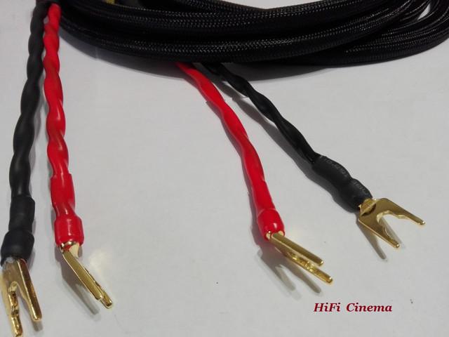 Готовый акустический кабель с бананами и лопатками от HiFi Cinema - 3