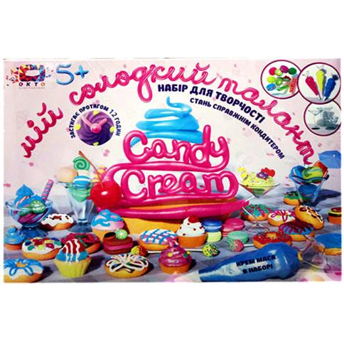 Набор для творчества ТМ Candy cream Мой сладкий талант / Пластилин / Набор для творчества / Тесто для лепки