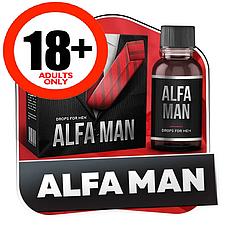 Alfa Man Краплі для підвищення потенції Альфа Мен, офіційний сайт