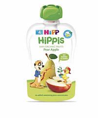 Пюре фруктове органік груша-яблуко HiPP (Хіпп) 100 гр з 4 місяців