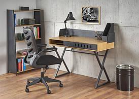 Письменный стол B43 дуб золотой 110х51 (Halmar)