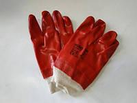 Перчатки рабочие 3121 Hugo красные