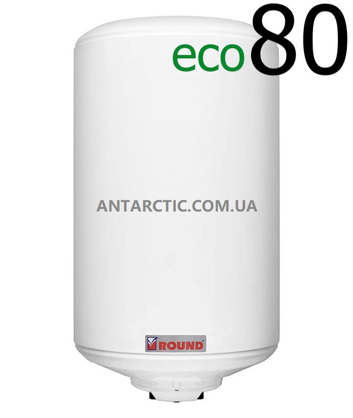 Бойлер 80 л, литров ATLANTIC ROUND ECO VMR 80 (1200W) электрический накопительный водонагреватель