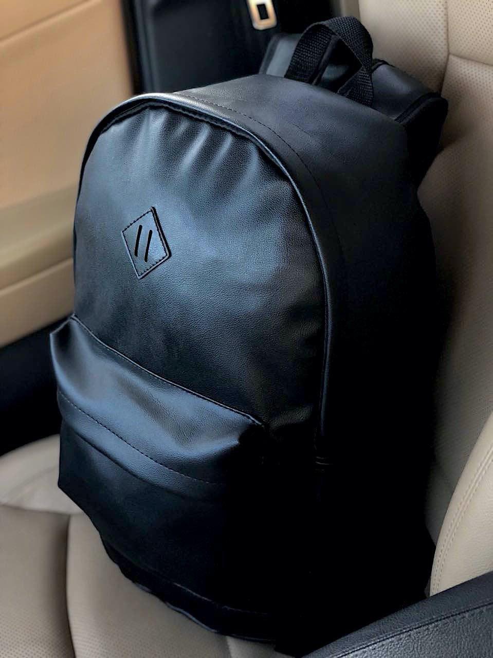 Кожаный рюкзак.