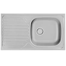 Кухонная мойка 78х43.5см Kernau KSS C 403 1B1D SMOOTH