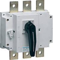 Выключатель нагрузки корпусный до 2х300мм2, 3п 630А, Hager
