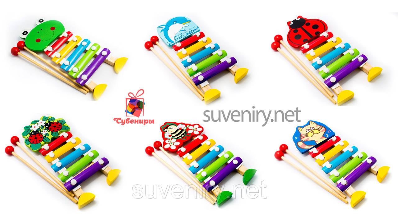 Детские деревянные ксилофоны