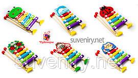 Дитячі дерев'яні ксилофони