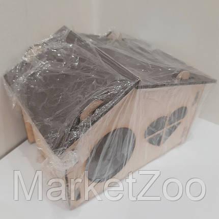 Домик для хомяка,маленькой крыски,белки дегу, фото 2