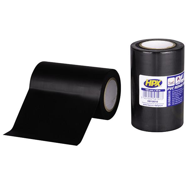 УФ-стойкая ремонтная агро-лента ACRITAPE - чёрная, 100мм х 10м